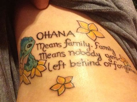 tattoo quotes family tumblr ohana means family tattoo tumblr www pixshark com