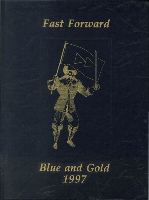 gold yearbook themes 1997 blue and gold yearbook by la salle college high