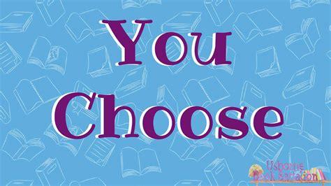 You Choose usborne you choose