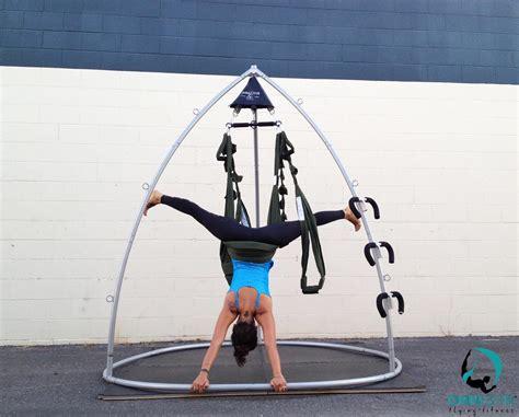 yoga swing stand how to invert on your omni gym yoga swing yoga swings
