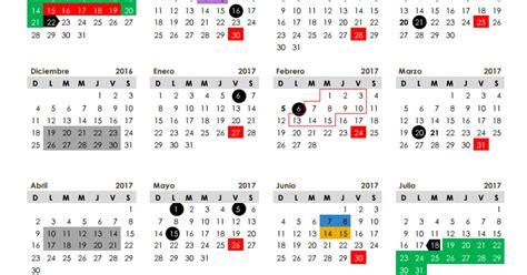 calendario 2016 2017 sep imagen ciclo escolar calendario escolar 2016 2017 de 185 y 200 d 237 as