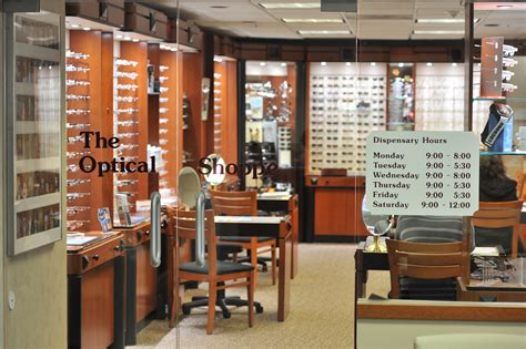 glasses shop shopping center