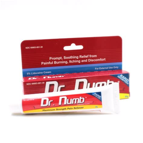 dr numb tattoo numbing cream 30g topical skin anesthetic