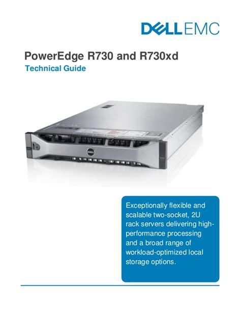 Dell Poweredge R730 2u Socket High Performance Rack Se Origi 1 dell emc poweredge r730 and r730xd technical guide