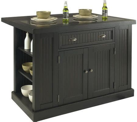 nantucket kitchen island home styles nantucket kitchen island qvc com