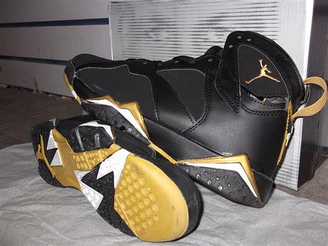 2012 air retro 7 black gold shoes aj288 80 00