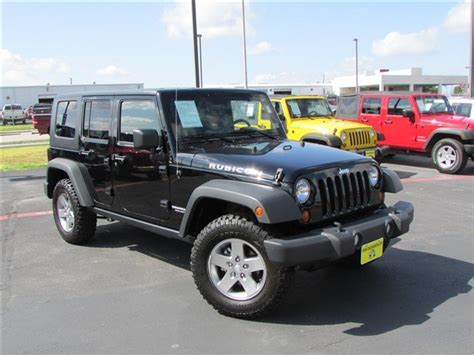 Used Jeeps For Sale Used Jeep Wrangler For Sale Waco Tx Cargurus