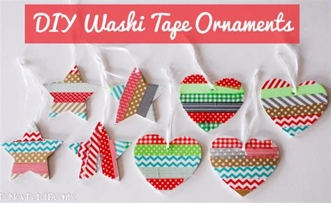 washi tape christmas craft 37 diy washi decorating projects you will