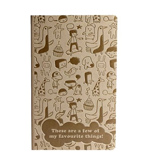 doodle stationery india doodle the of writing favourites beige diary buy
