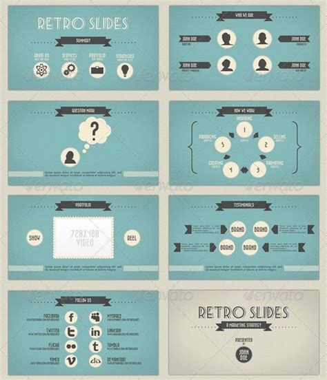 great looking powerpoint templates rabbito 파워포인트 ppt 디자인 모음