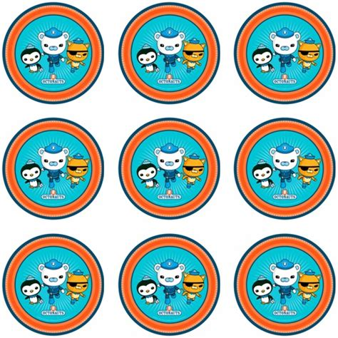 Paw Patrol Birthday Decorations Octonauts Cupcake Icing Images This Party Started