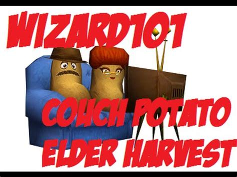 wizard101 couch potatoes wizard101 harvesting couch potatoes youtube