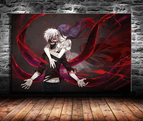 tokyo ghoul japanese animehome decor hd printed