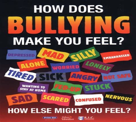 How Does This Photo Make You Feel by How Does Bullying Make You Feel Stop Bullying In