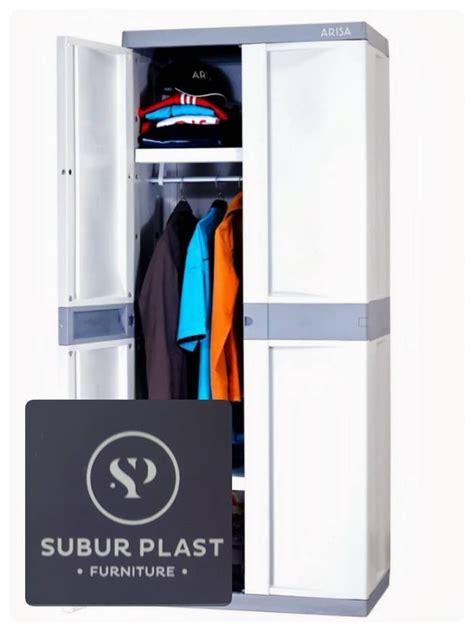 Lemari Plastik 8 Pintu By Toko Ani jual lemari plastik lemari pakaian arisa arniss gantung 2