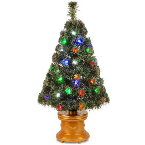 3 ft fiber optic xmas tree national tree company 3 ft fiber optic evergreen fireworks artificial tree szex7 158l