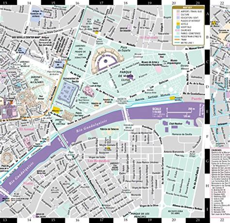 streetwise map laminated city center map of michelin streetwise maps books streetwise seville map laminated city center map