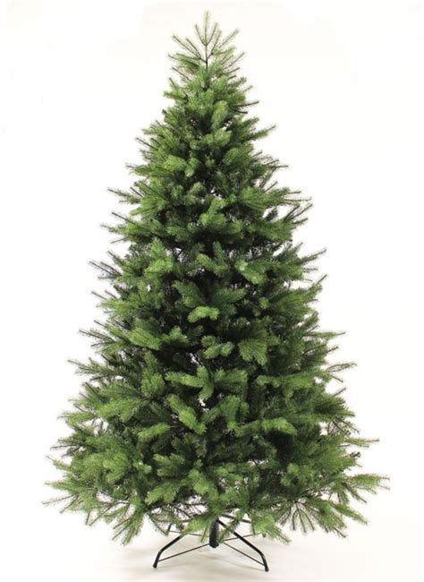 6 foot georgia fir artificial christmas tree unlit ebay