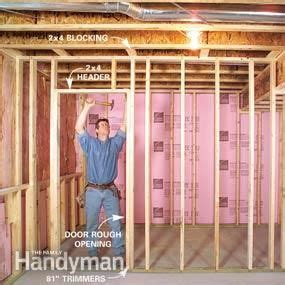 how to finish a basement framing and insulating