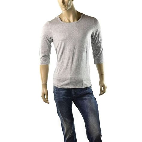 Armani Exchange Mens T Shirt Size S armani exchange t shirt mens 3 4 sleeve jersey a x solid shirts size m new t shirt