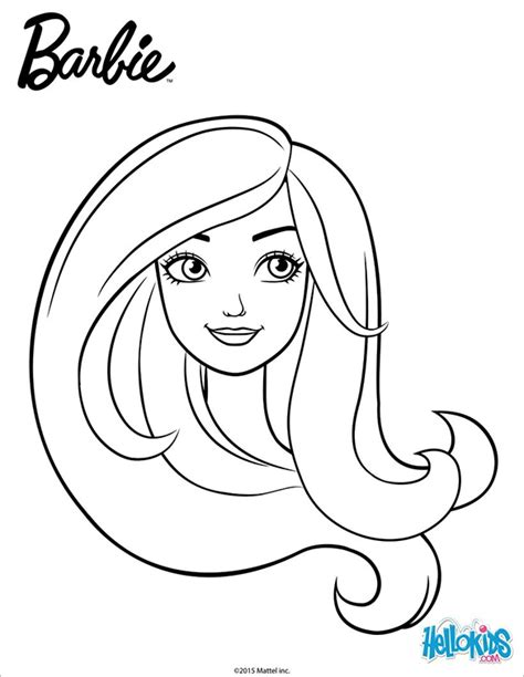 barbie head coloring pages 21 barbie coloring pages free printable word pdf png