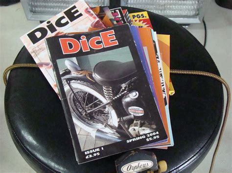 dice magazine dice magazine issues 1 15 new old stock grumps garage