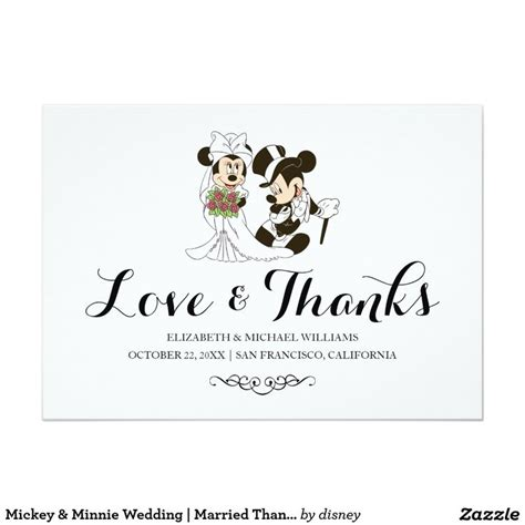 Disney Photo Card Templates by 17 Best Images About Wedding Thank You Cards On