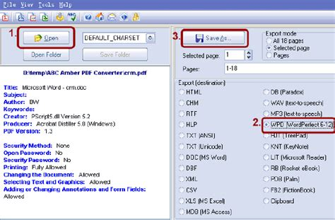 convert pdf to word perfect wpd to word converter