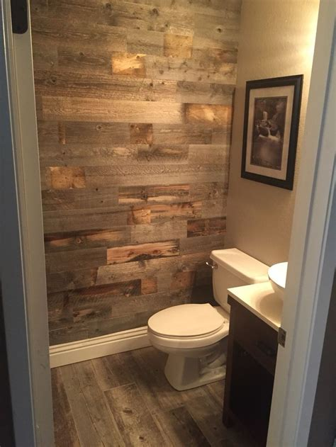 diy guest bathroom remodel bathroom remodel with stikwood pinteres
