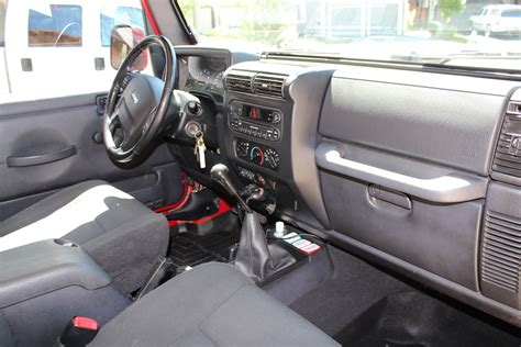 Wrangler Rubicon Interior by 2006 Jeep Wrangler Interior Pictures Cargurus