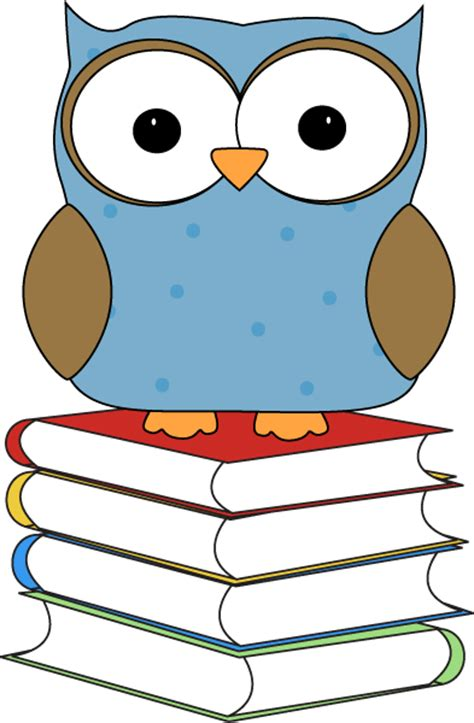 owl clipart free free owl and book clip clipart best