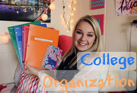 organization tips for college students college organization tips my planner youtube