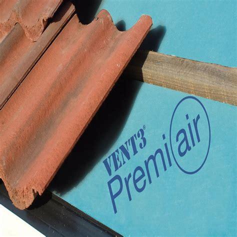 Rigid 010 X 140 X 50m air open breather membrane felt cromar vent 3 premiair 50m x 1m roll insulation superstore 174