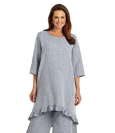 Zaida Tunic bryn walker zaida crossdyed linen tunic dillards buy linen tunic linens and