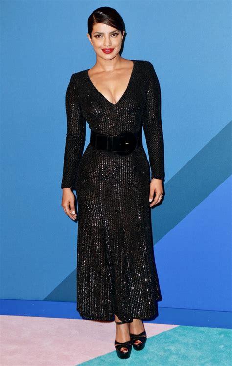 priyanka chopra new york fashion priyanka chopra at cfda fashion awards in new york 06 05
