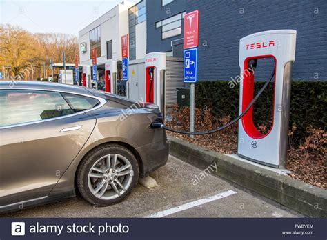 tesla charging stations tesla motors electric car charging station in eindhoven