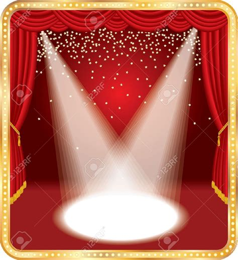 curtains broadway curtains broadway clipart