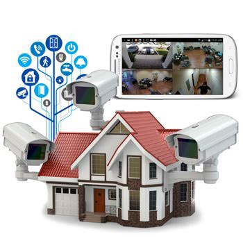 home security surveillance systems and alarms