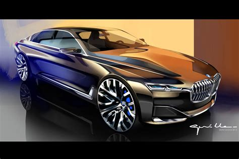 luxury bmw 7 series bmw vision future luxury concept points to next 7 series