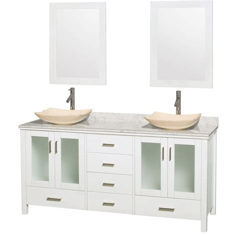 Two Vanities In Bathroom Bathroom Vanities Sink Vanities Home Decor Interior Design Discount Furniture