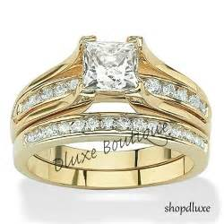 wedding rings on ebay 14k gold plated wedding ring sets collection on ebay