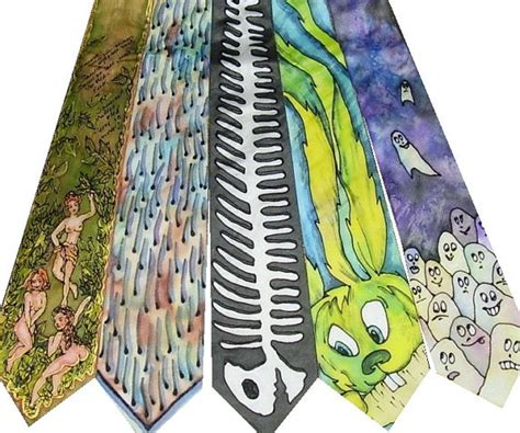 Handmade Ties - shout out silk ties