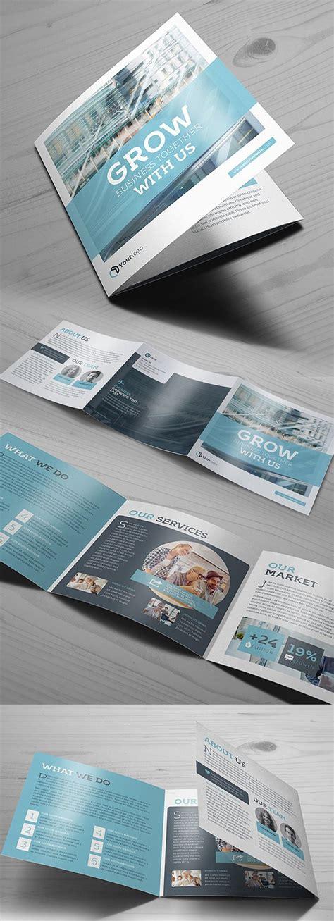 New Brochure Templates Catalog Design Design Graphic Design Junction Square Trifold Brochure Template