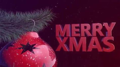 merry christmas intro youtube