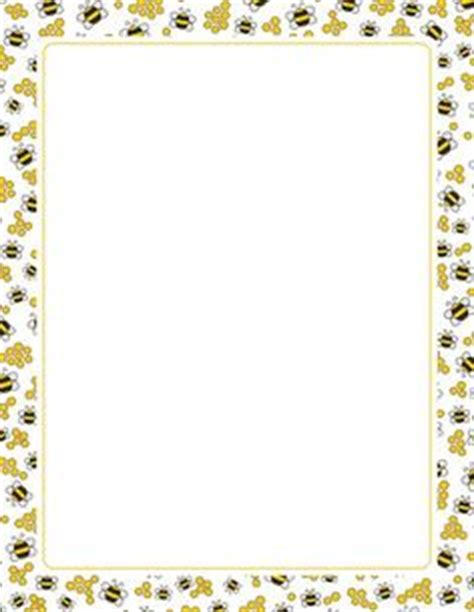 printable bee stationery a black lace page border free downloads at http