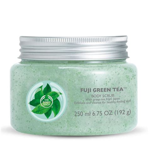 Scrub The Shop new from the shop fuji green tea swatch and review