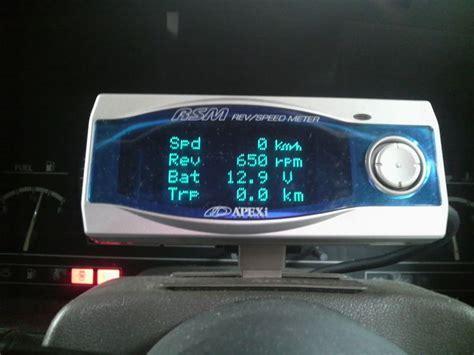 Meter Rsm Apexi Rev Speed Meter Rsm Gp フェアレディz 200zr 日産 パーツレビュー 柏木楓