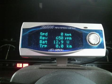 Meter Rsm apexi rev speed meter rsm gp フェアレディz 200zr 日産 パーツレビュー 柏木楓 みんカラ 車 自動車sns ブログ パーツ 整備 燃費