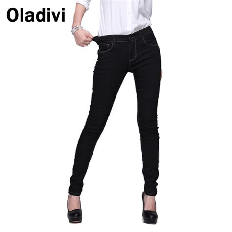Dress Redlight Stretch Elastis Korea Jumbo buy wholesale denim trousers from china denim trousers wholesalers aliexpress