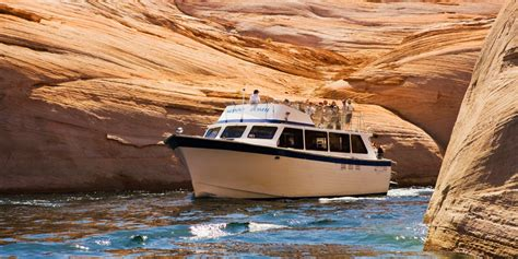 lake powell private boat tours lake powell resort at wahweap marina in az accommodation